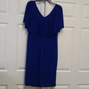 Connected Apparel blue dress size 16